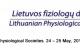 3-asis Baltijos šalių fiziologų draugijų susitikimas – 3-rd meeting of Baltic Physiological Societies